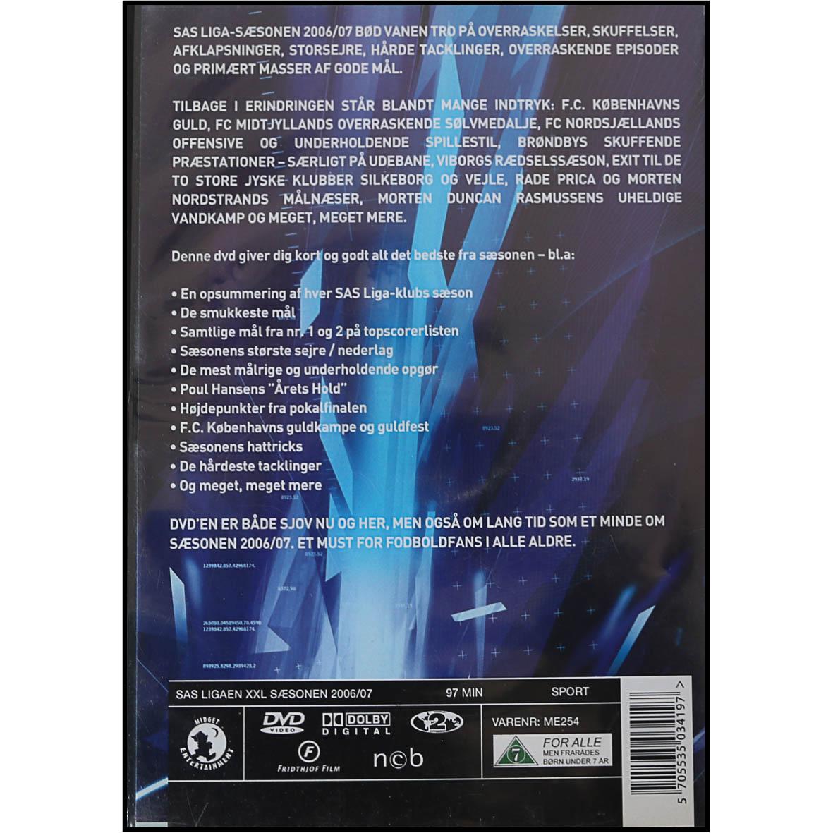 DVD- SAS Ligaen XXL - Sæsonen 2006/07
