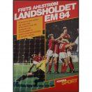 Frits Ahlstrøm -Landsholdet EM 1984