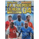 The Official Merlin Premier League Sticker collection Samlealbum 2004