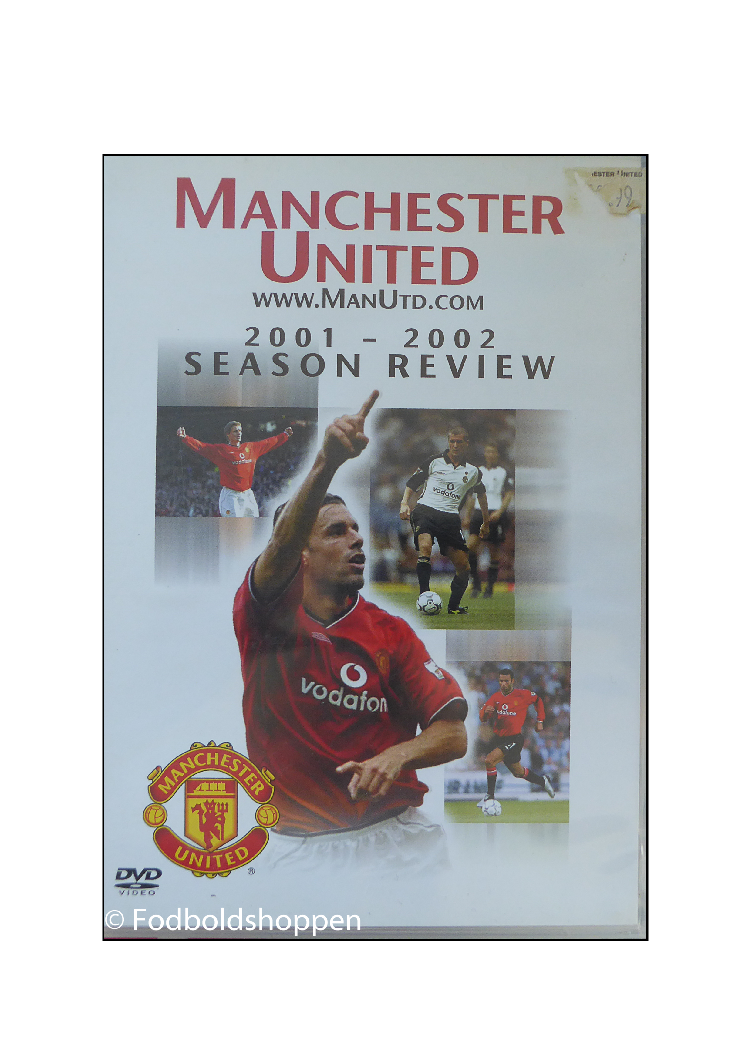 DVD -Manchester United Season Review 2001 - 2002