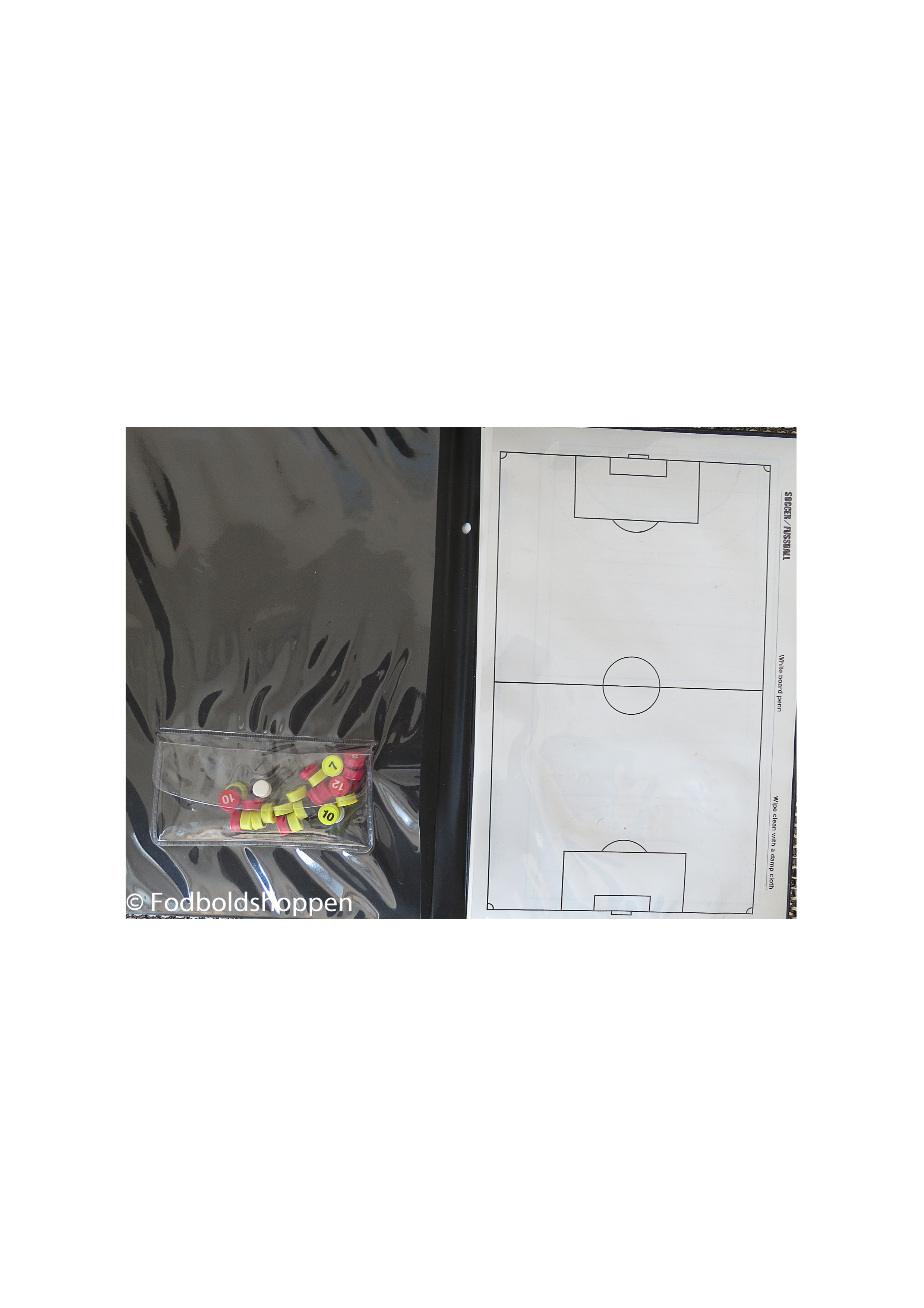 TacticsBoard med små magneter og ark - Fodboldshoppen 919be27644883