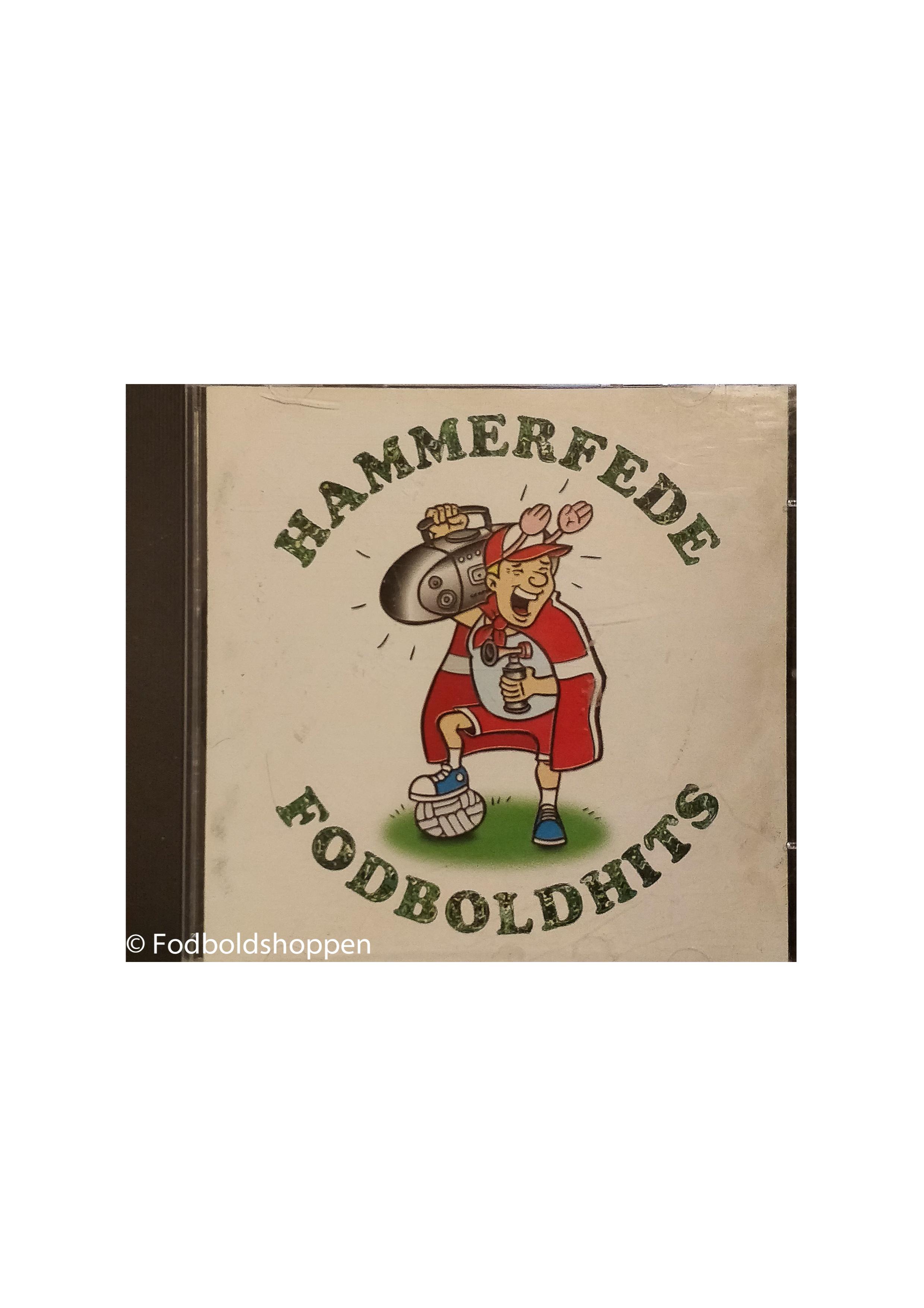 Hammerfede Fodboldhits CD