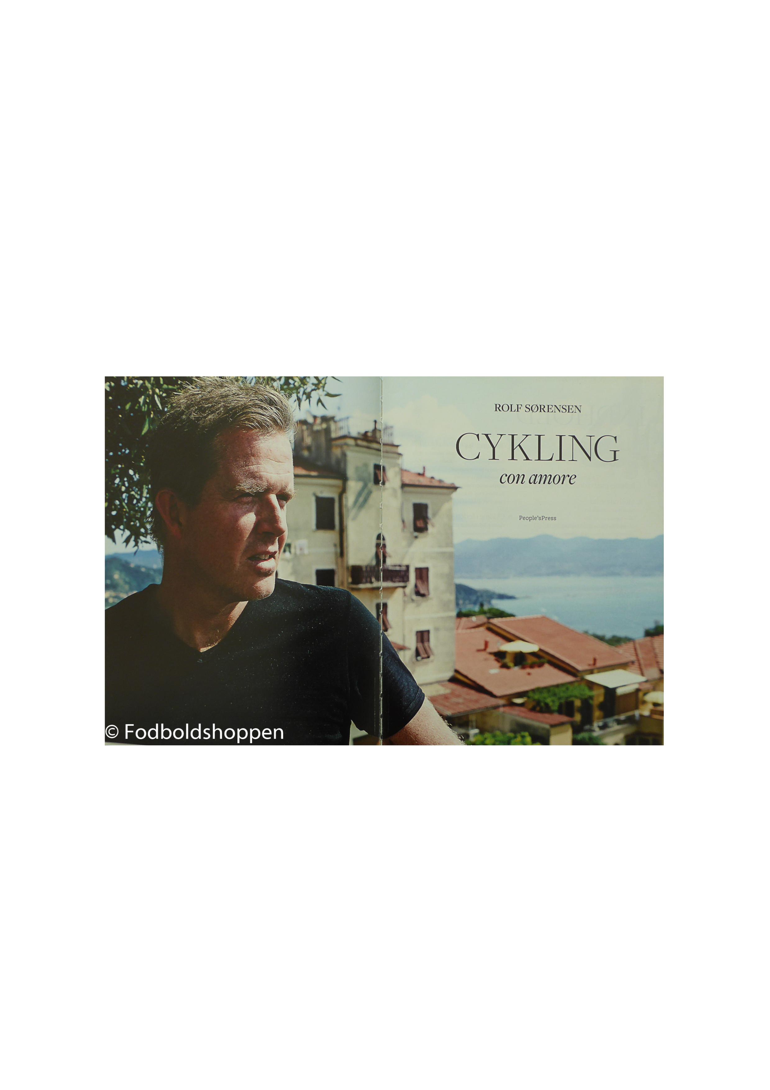 Rolf Sørensen - Cykling con amore (uden smudsomslag)