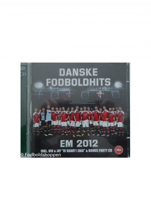CD - Danske Fodboldhits - EM 2012