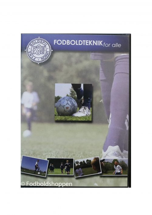 DVD - Fodboldteknik for alle
