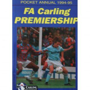 FA Carling Premiership pocket annual 1994-95
