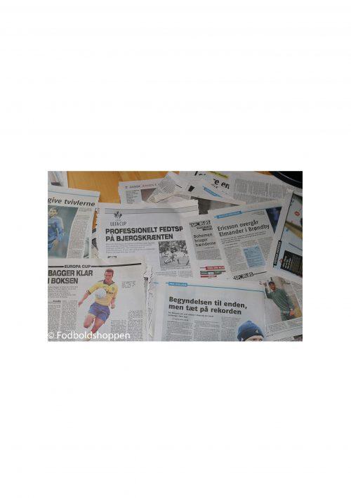 Brøndby avisudklip tipsbladet fra 2003-2008