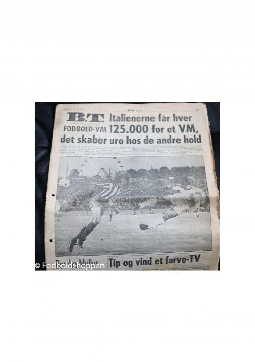 Avis udklip samling fra VM 1974