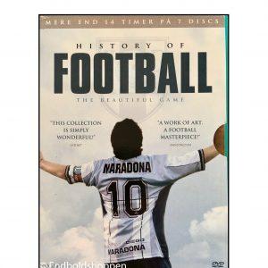 History of Football – 7 dobbelt DVD om Fodboldens historie