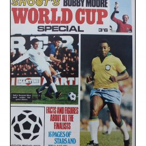Shoot Bobby Moore World Cup Special 1970