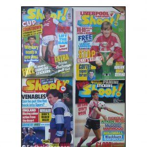 Shoot Magazine 1988 – 4 stk blade