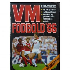 VM Fodbold 86 af Frits Ahlstrøm