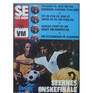 Se og hør Vm 1974 TV guide / VM tillæg