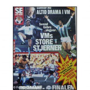 Se og hør VM – Extra 1982 – Fodbold tillæg