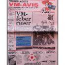 Folkebladets VM avis 1986