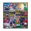 Indersiden - Fodboldspillernes eget magasin. 8 stk