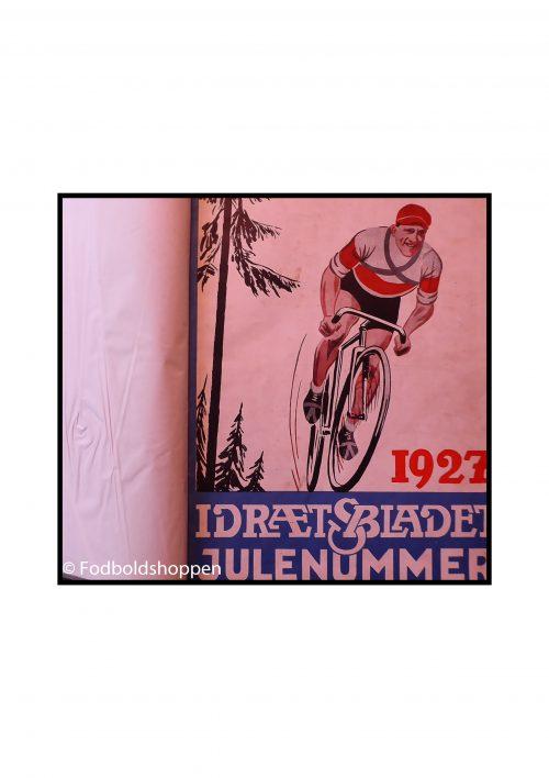 Idrætsbladets julenummer / Jul for sportsmænd indbundet 1927-1939