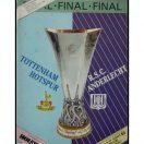 Kampprogram: Tottenham - Anderlecht - UEFA Cup Final. 2.leg