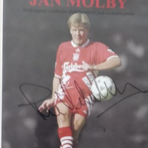 60 minutes with Jan Mølby – Limited signed Audio CD