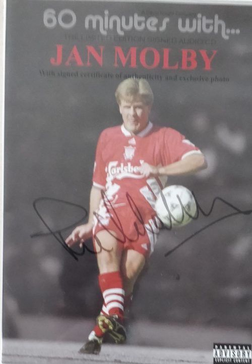 60 minutes with Jan Mølby - Limited signed Audio CD