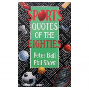 Citater og historier – Underholdende engelske bøger om sport/fodbold
