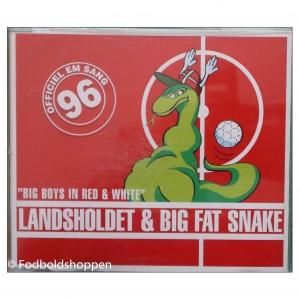 CD Single – Big Fat Snake & Landsholdet – Big boys in red & White